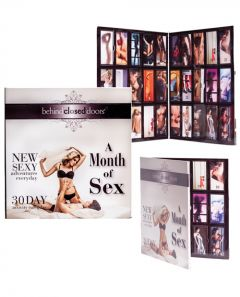 Month of Sex Game for Couples