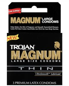 Condoms - Magnum Thin - Box of 3