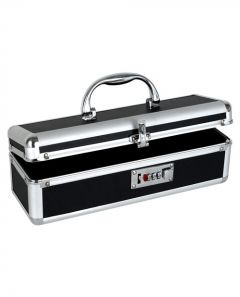 The Toy Chest - Lockable Vibrator Case - Black