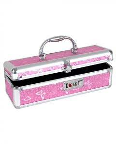 The Toy Chest - Lockable Vibrator Case - Pink
