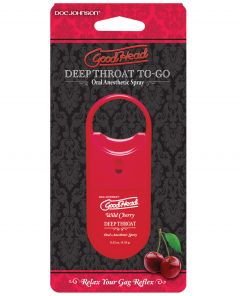 Spray - Good Head Deep Throat Spray to Go - Cherry