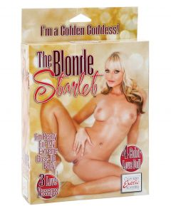 California Exotic Novelties The Blonde Starlet Doll
