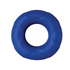 Big Man Silicone Cock Ring - Blue