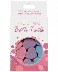 Bath Bombs - Fizzing Heart - 12 Pack