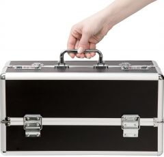 The Toy Chest - Large Lockable Vibrator Case - Black