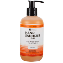 Concepts Naturals Hand Sanitizer Gel-Citrus 8.12oz