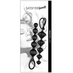 Satisfyer Beads-Black Set Of 2