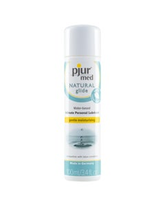 med NATURAL glide Water-based Personal Lubricant 3.4 oz