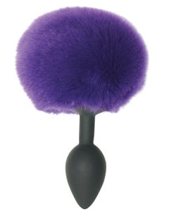 Bunny Tail Silicone Butt Plug