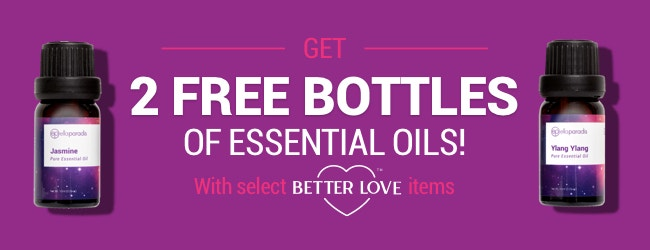 2 Free Oils w/ select Better Love Products!