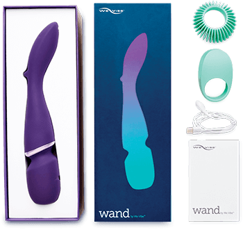We-Vibe Wand Contents