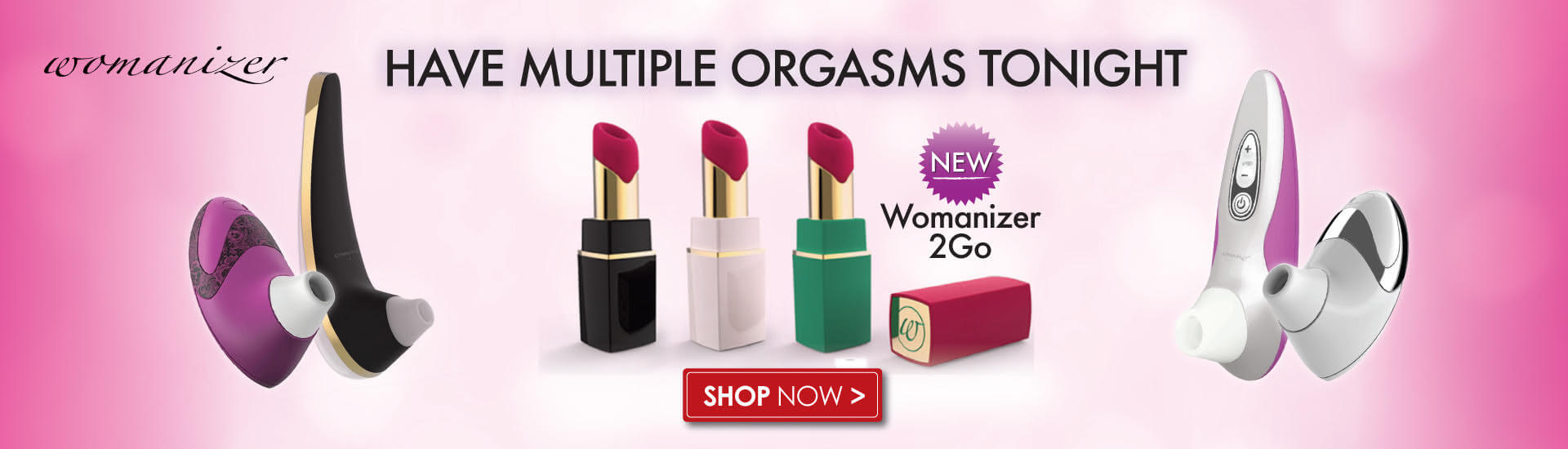 Have multiple orgasms with the Womanizer